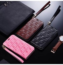 フェンディ風 iphoneXS/XSMAX/XRケース アイフォン8/7/6s/6プラス手帳型ケース パロディ FFロゴ 女性 男性用