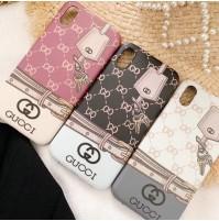 gucci アイフォンケース XSMAX/XR/XS/X かわいいIPhone8/6/7/6S/6PLUS携帯ケース レディース