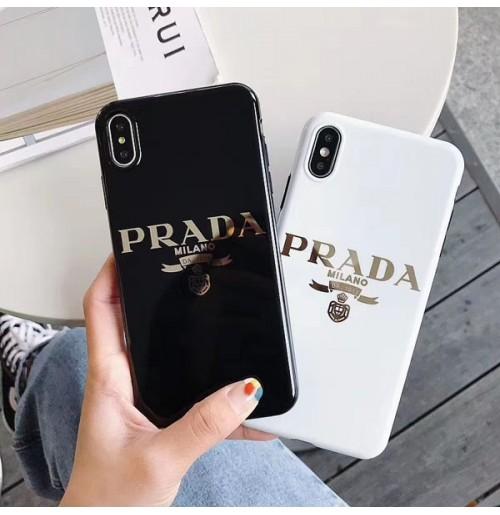 プラダ アイフォンケースxs max/xs/xr/x PRADA iphone8/8plus パロディーケース アイホン7/6s/6プラス携帯ケース オシャレ