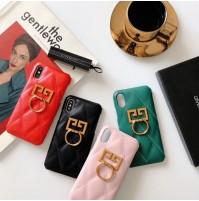 ジバンシィ アイフォンXs/XsMAX/Xrケース リング付き GIVENCHY ロゴ iphone8/7/6s/6plusスマホケース シンプル