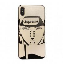 NARUTOナルト ペインxシュプリーム アイフォンXS/XSMAX/XR/Xケース ペイン六道 iphone8/7/6s/6+カバー 男性 メンズ