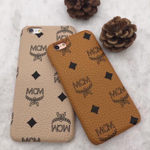 ブランド iPhone8/7plusケース MCM