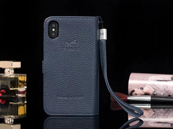 iphone8plus レザーケース HERMES