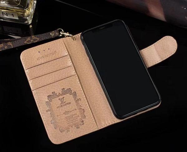 グッチ iPhone8 財布型 手帳レザーケース