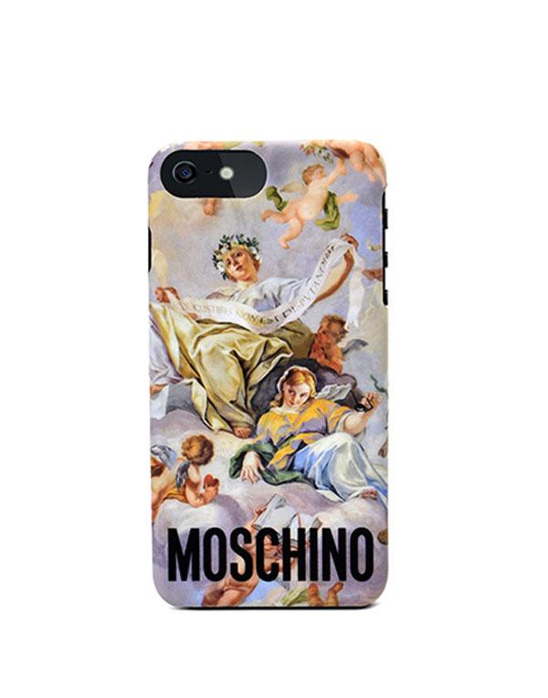 モスキーノ アイフォン X 背面カバー