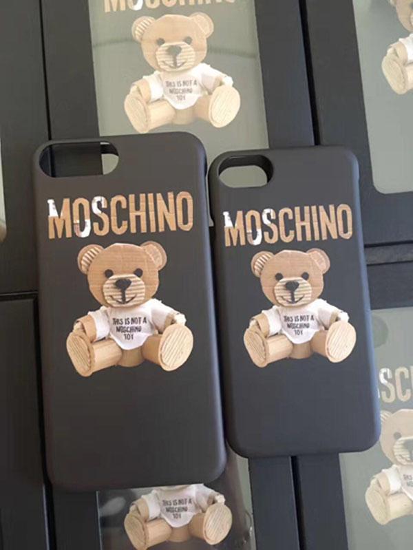 モスキーノ iphone X ケース パロディ