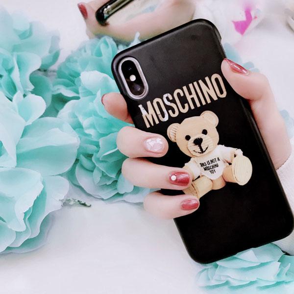 iphone8plus ケース ブランドコピー モスキーノ