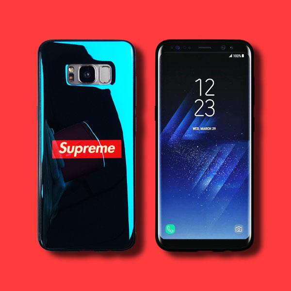supreme galaxys9 背面カバー