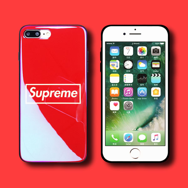 supreme iphone X ケース
