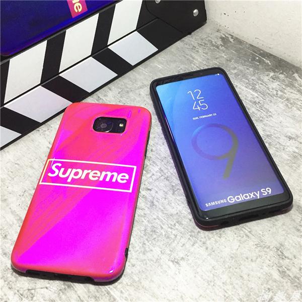 シュプリーム galaxy s9 plus カバー