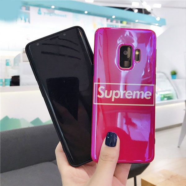 supreme galaxy s8+ ケース