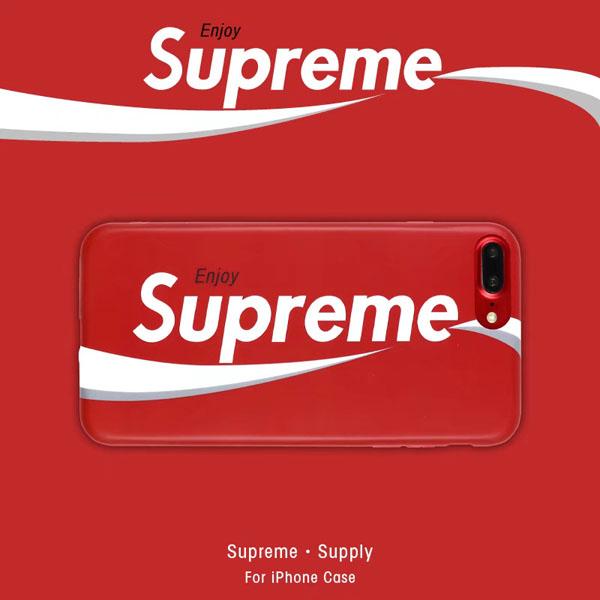 シュプリーム ペプシ iphone8plus ケース