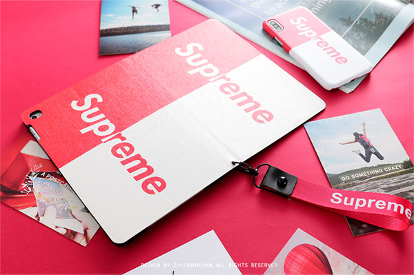 supreme iPad 9.7 2018 /iPad 9.7 2017 兼用保護カバー