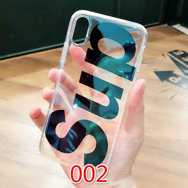 シュプリーム iphone8 ハードケース 透明