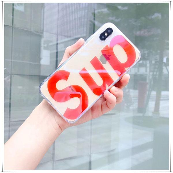 シュプリーム iPhone7Plus カバー クリア