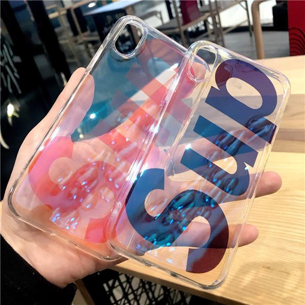 シュプリーム iphone8 透明ケース