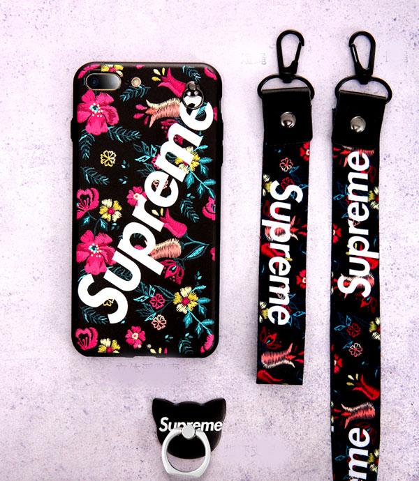 supreme アイフォン iphone8 カバー