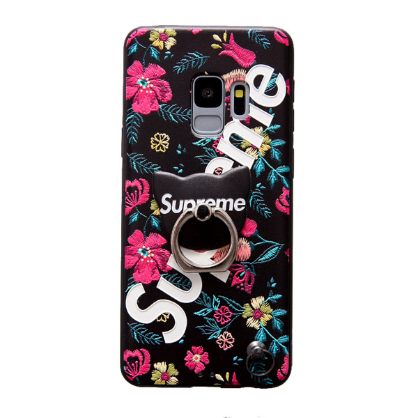 supreme アイフォン x カバー 刺繍