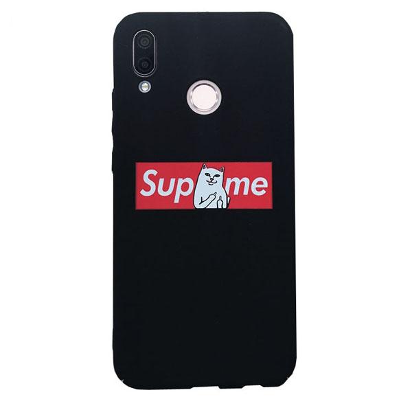 supreme RIPNDIP猫 Huawei ノヴァ ツー ケース