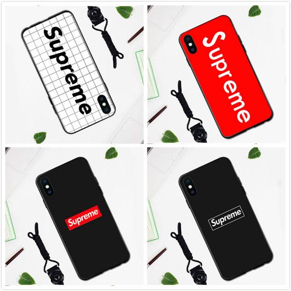 supreme iphone X カバー パロディ