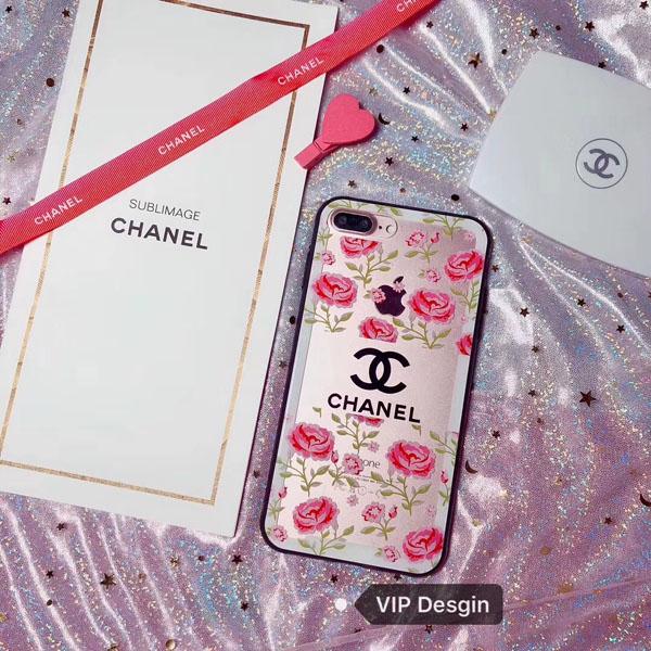 シャネル風 iphone X ハードケース