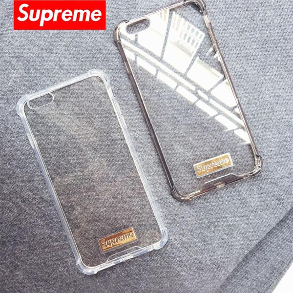 クリア supreme アイフォンx カバー