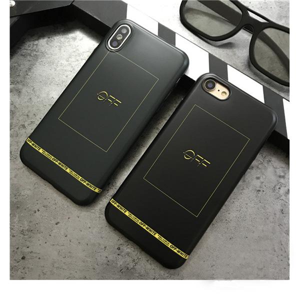 OFF-WHITE iphone8plus カバー