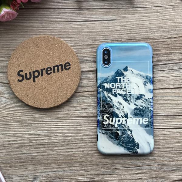 THE NORTH FACE シュプリーム iphone8 プラスカバー