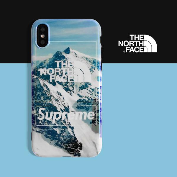 THE NORTH FACE シュプリーム iphone8/7 プラスカバー