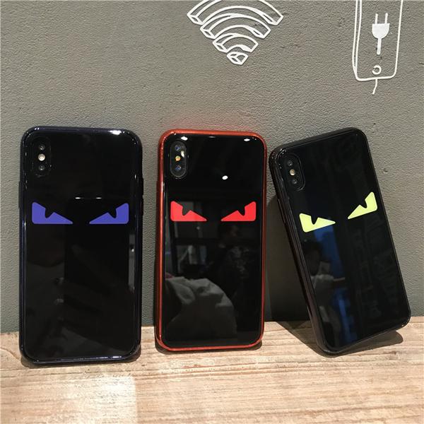 フェンディ iphone8 ケース ガラス