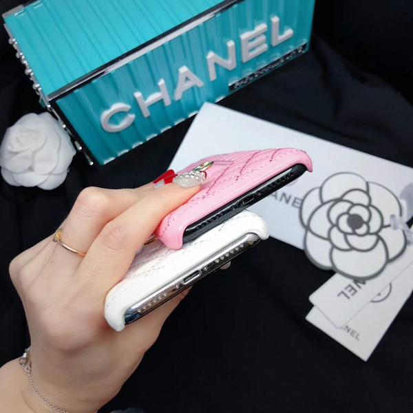 CHANEL iPhone Xs Max 背面ケース