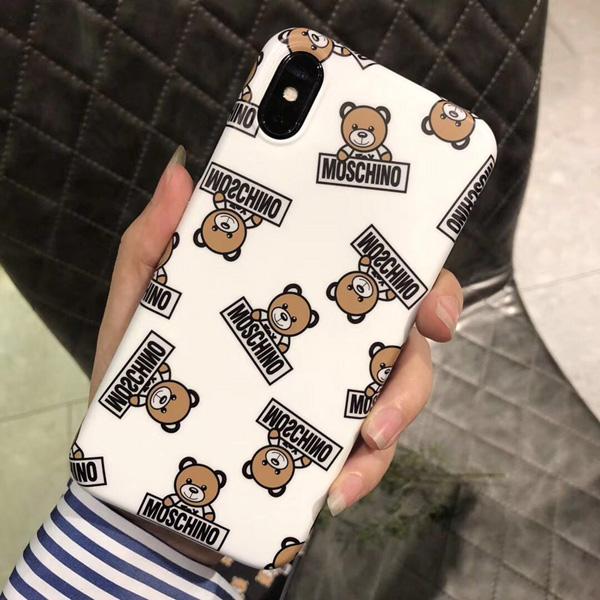 モスキーノ iphoneXS MAXケース くま