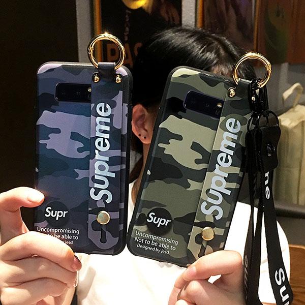 シュプリーム風 galaxy note9 携帯ケース