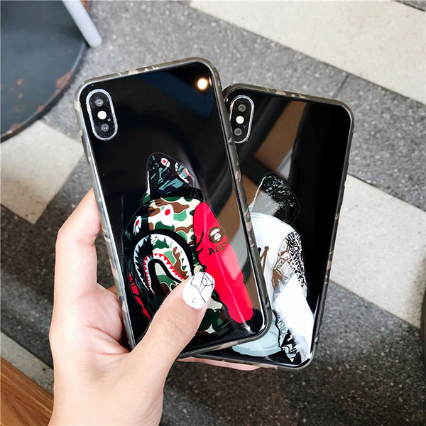 Aape iphone XS/XS MAX XRガラスカバー