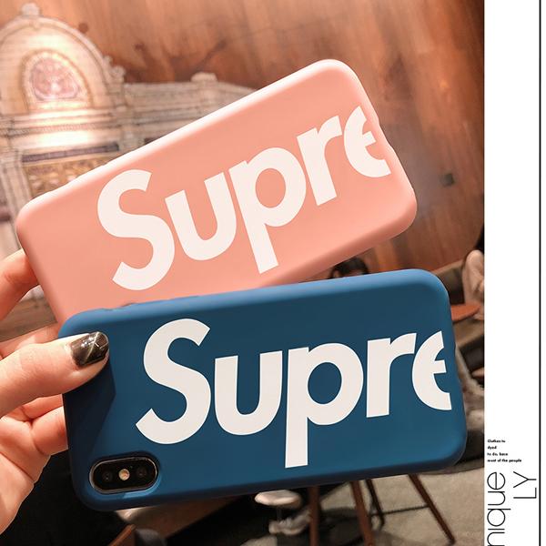 シュプリーム風 iphone 8 カバー
