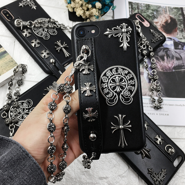 Chrome hearts iphone8背面ケース 復古
