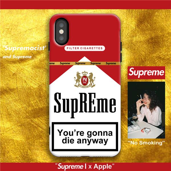 シュプリーム マルボロ iPhoneXRケース 新品