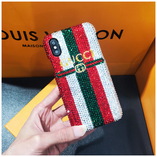 GUCCI iphone XSデコケース
