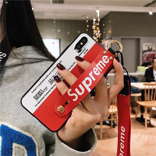 supreme iphoneXR 持ち手カバー