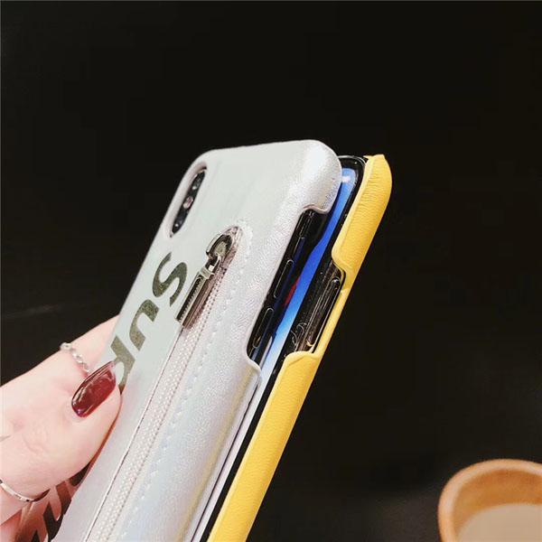 ファスナー付きスマホケース ブランド アイフォン8対応